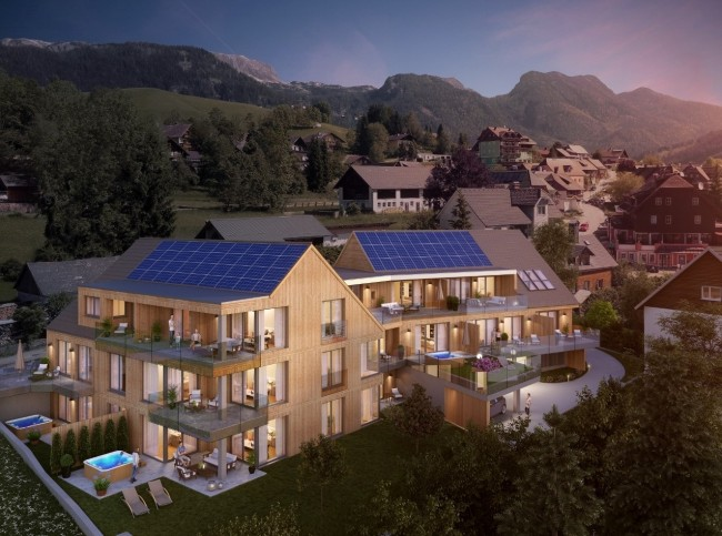 Glorious New Apartments Without the Obligation to Rent Out in Tauplitz