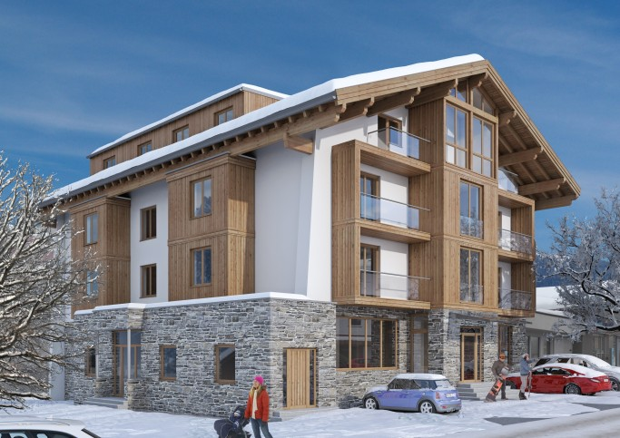 Ski & Sun  - Luxury Ski Apartments with Pool in Zell am See
