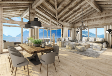 Amazing Luxury Residence with Alpine Ski Apartments