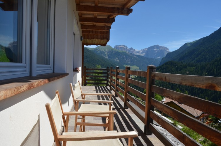 Beautiful Villa in a Unique Location with Spectacular Views in Val di Fassa